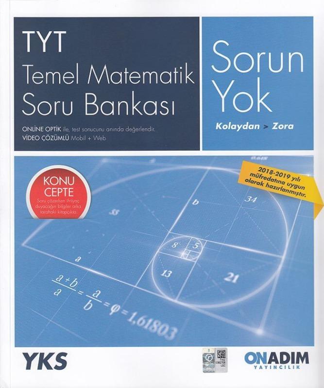 Onadım Yayıncılık TYT Temel Matematik Soru Bankası