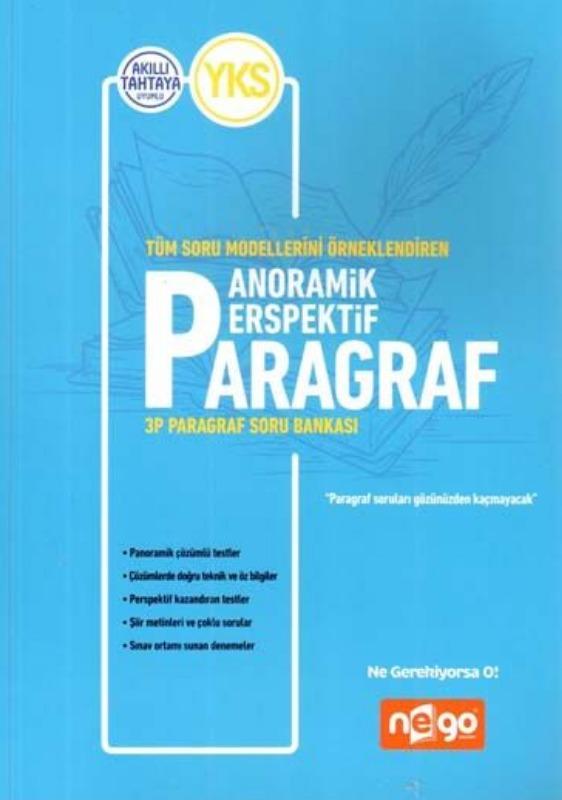 Nego Yayınları YKS Anoramik Perspektif Paragraf Soru Bankası