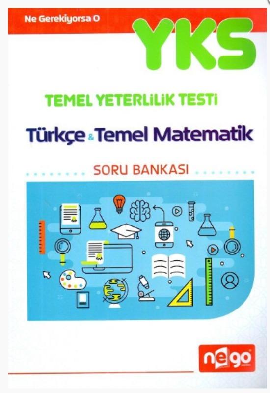 Nego Yayınları TYT Türkçe Temel Matematik Soru Bankası Deneme Sınavı Hediyeli