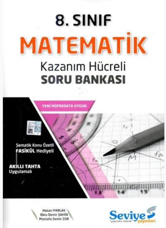 Seviye Yayınlar 8. Sınıf Matematik Kazanım Hücreli Soru Bankası