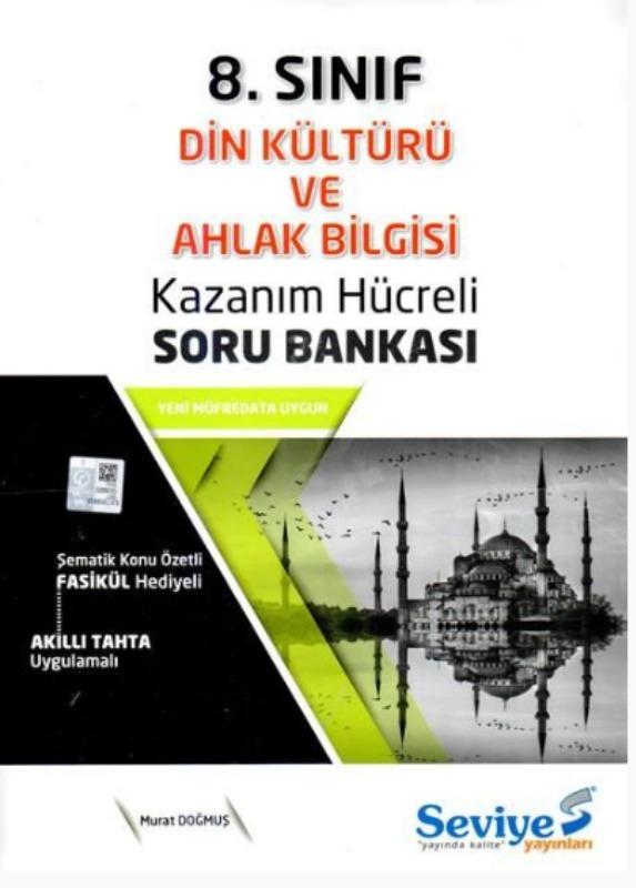 Seviye Yayınlar 8. Sınıf Din Kültürü ve Ahlak Bilgisi Kazanım Hücreli Soru Bankası