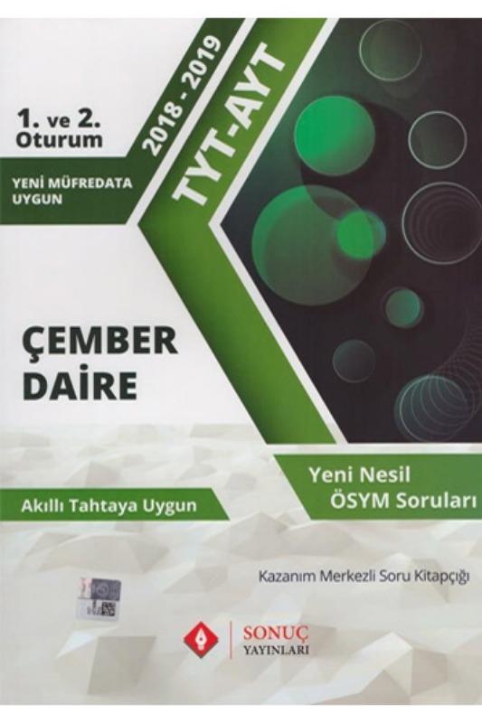 Sonuç Yayınları TYT AYT Çember Daire Kazanım Merkezli Soru Bankası