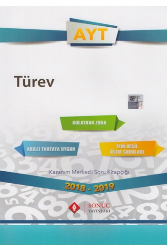 Sonuç Yayınları AYT Türev Kazanım Merkezli Soru Bankası