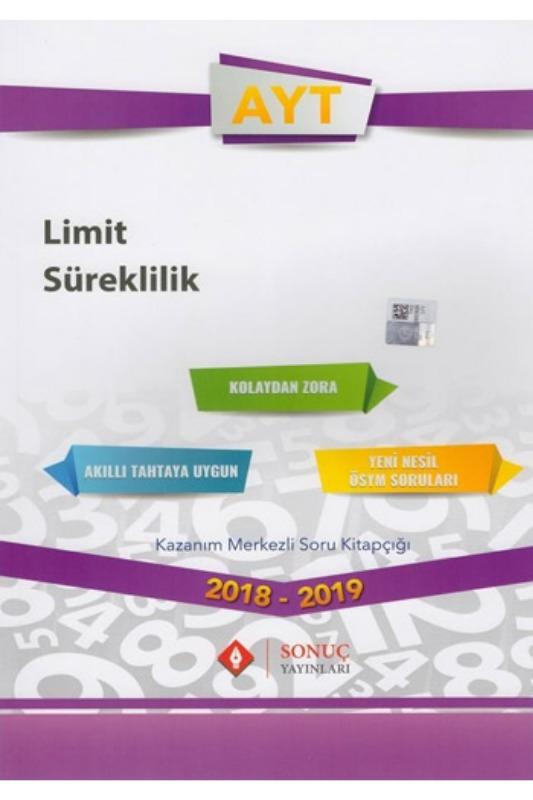 Sonuç Yayınları AYT Limit Süreklilik Kazanım Merkezli Soru Bankası