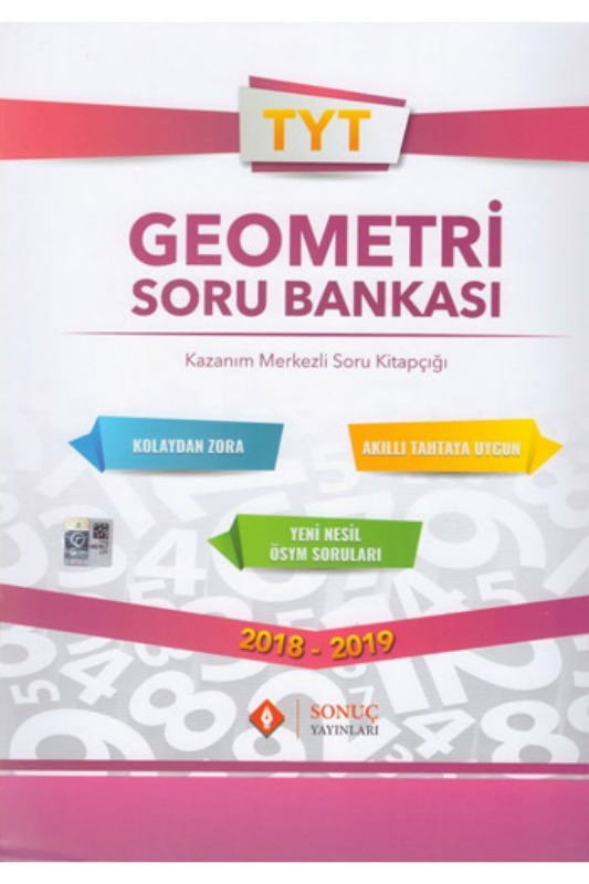 Sonuç Yayınları TYT Geometri Soru Bankası