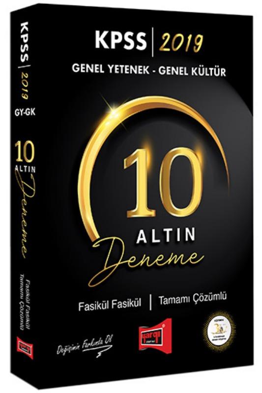 Yargı Yayınları KPSS Genel Yetenek Genel Kültür Fasikül Fasikül Tamamı Çözümlü 10 Deneme
