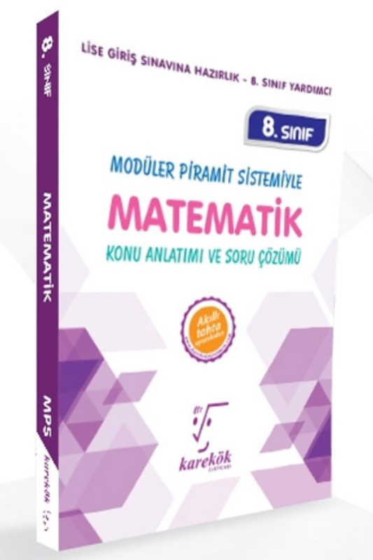 Karekök Yayınları 8. Sınıf LGS Matematik Konu Anlatımı ve Soru Çözümü