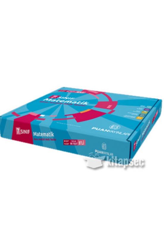 7. Sınıf Matematik Konu Analizli Akıllı Testler (8 Öğrencilik Set) Puan Yayınları