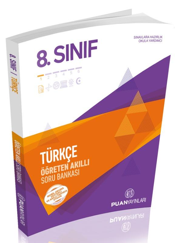 8. Sınıf Türkçe Öğreten Akıllı Soru Bankası Puan Yayınları