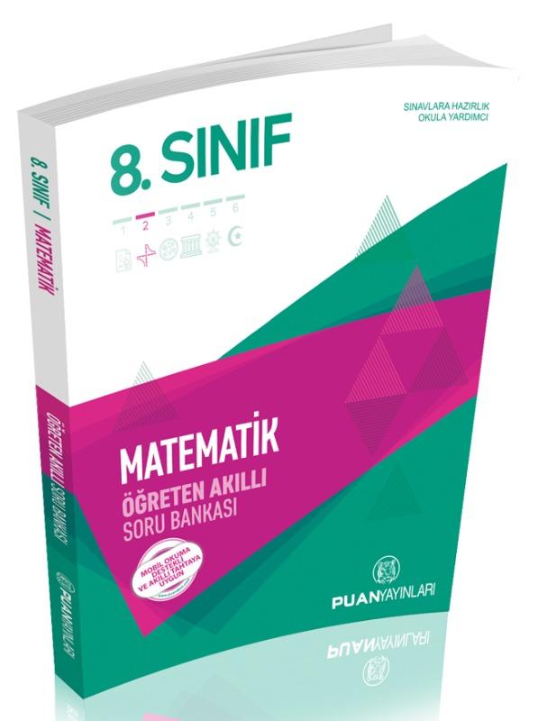 8. Sınıf Matematik Öğreten Akıllı Soru Bankası Puan Yayınları