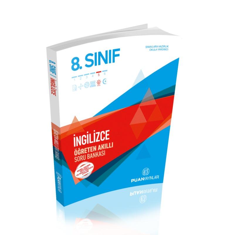 8. Sınıf İngilizce Öğreten Akıllı Soru Bankası Puan Yayınları