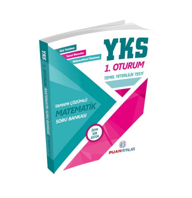 YKS TYT Matematik Tamamı Çözümlü Soru Bankası Puan Yayınları
