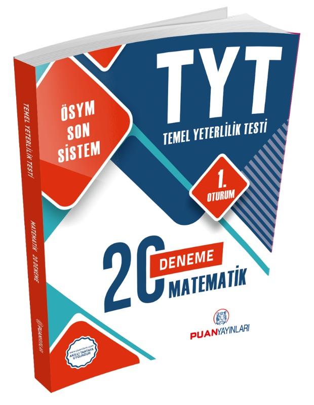 TYT Matematik 20 Deneme Puan Yayınları