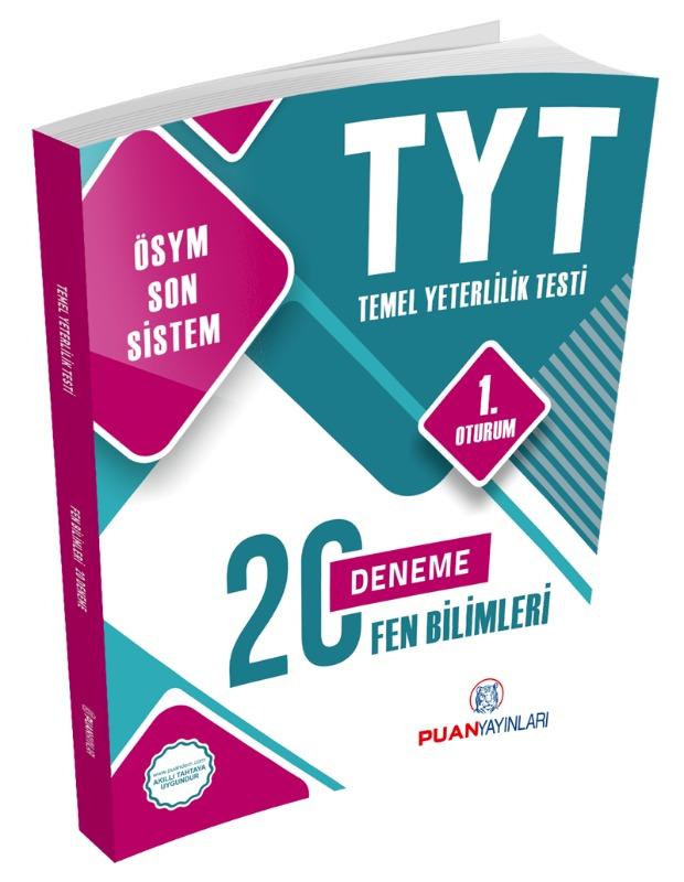TYT Fen Bilimleri 20 Deneme Puan Yayınları