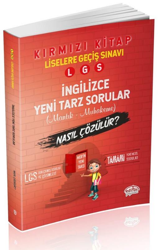 LGS İngilizce Mantık Muhakeme Soruları Nasıl Çözülür? Editör Yayınları