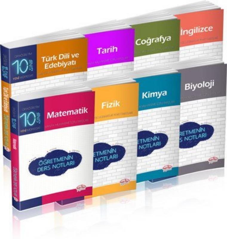 10. Sınıf Öğretmenin Ders Notları Seti Editör Yayınları