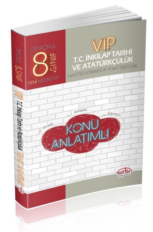 8. Sınıf Vip TC. İnkılap Tarihi ve Atatürkçülük Konu Anlatımı