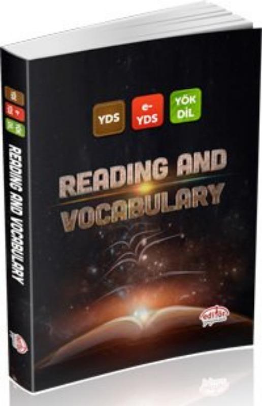 YDS, e-YDS, YÖKDİL Reading and Vocabulary Editör Yayınları