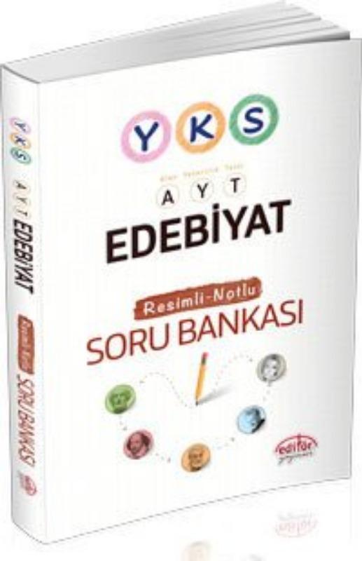 YKS Edebiyat Resimli Notlu Soru Bankası Editör Yayınları
