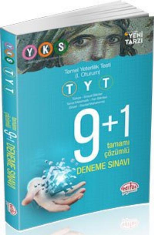 TYT 9+1 Deneme Sınavı Editör Yayınları