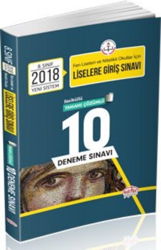 LGS Çözümlü 10 Deneme Sınavı Editör Yayınları