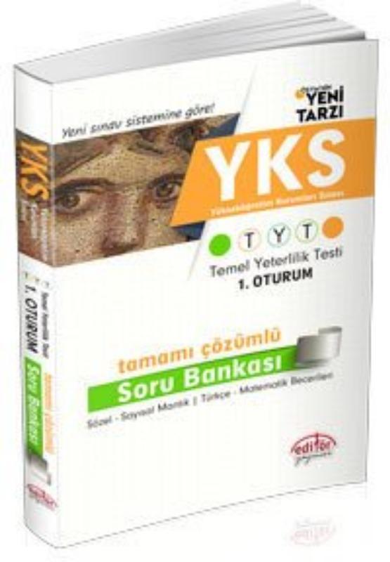 TYT Tamamı Çözümlü Soru Bankası Editör Yayınları