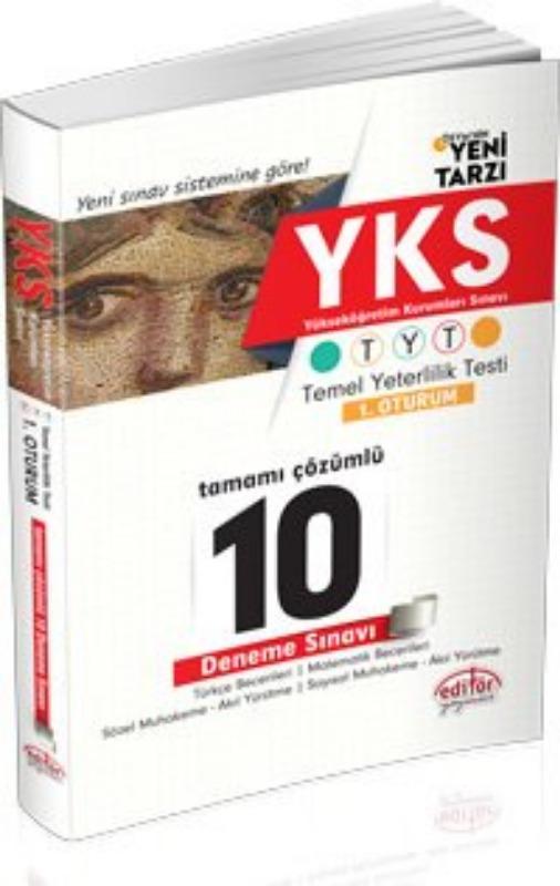 TYT  Çözümlü 10 Fasikül Deneme Sınavı Editör Yayınları
