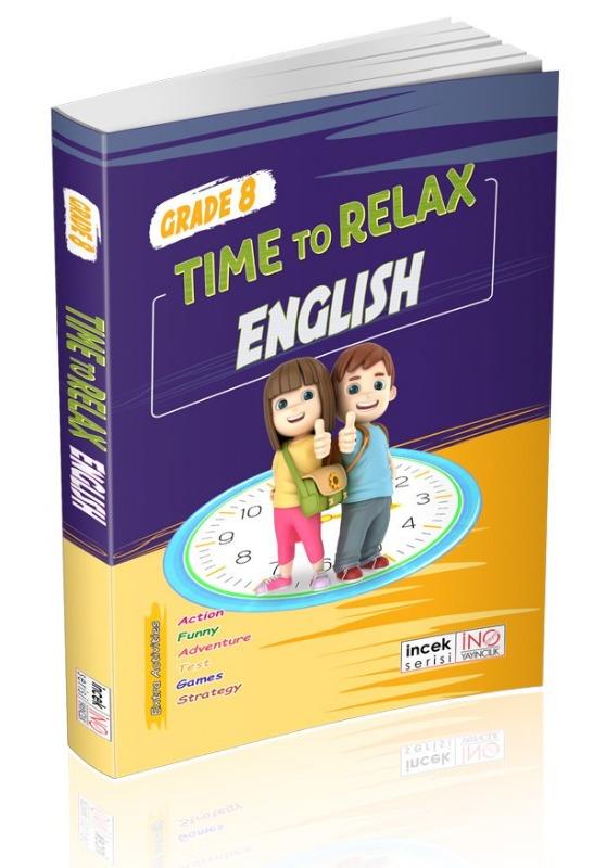 8. Sınıf Tıme To Relax English İnovasyon Yayınları