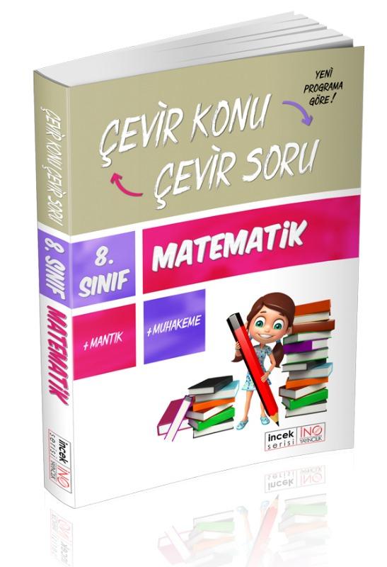 8. Sınıf Matematik Çevir Konu Çevir Soru İnovasyon Yayınları