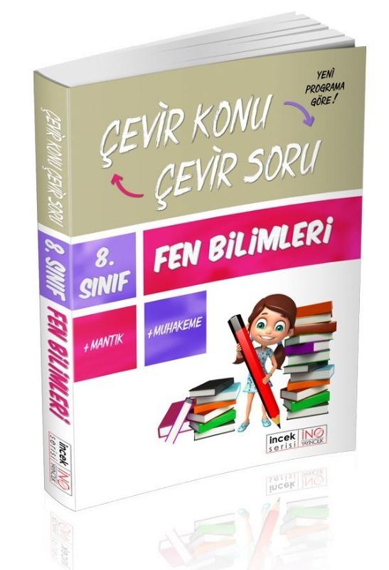 8. Sınıf Fen Bilimleri Çevir Konu Çevir Soru İnovasyon Yayınları