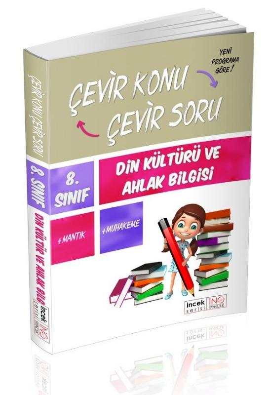 8. Sınıf Din Kültürü ve Ahlak Bilgisi Çevir Konu Çevir Soru İnovasyon Yayınları