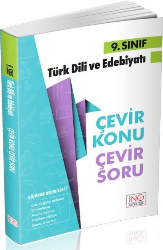9. Sınıf Türk Dili ve Edebiyatı Çevir Konu Çevir Soru İnovasyon Yayınları