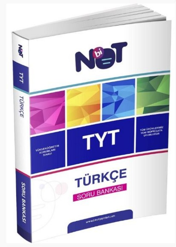 BiNot Yayınları TYT Türkçe Soru Bankası