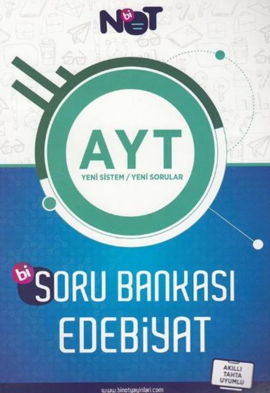 BiNot Yayınları AYT Edebiyat Soru Bankası