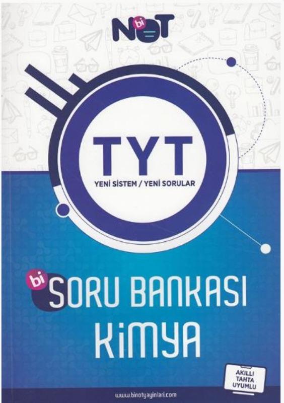 BiNot Yayınları TYT Kimya Soru Bankası