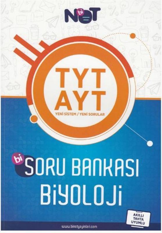 BiNot Yayınları TYT AYT Biyoloji Soru Bankası
