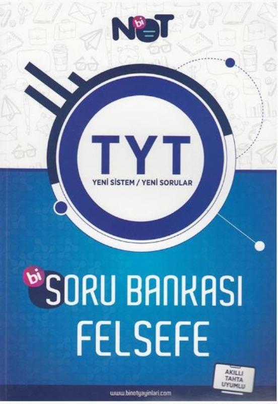 BiNot Yayınları TYT Felsefe Soru Bankası