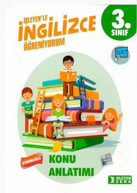 İşleyen Zeka Yayınları 3. Sınıf İngilizce Etkinlikli Öğreniyorum Konu Anlatımlı