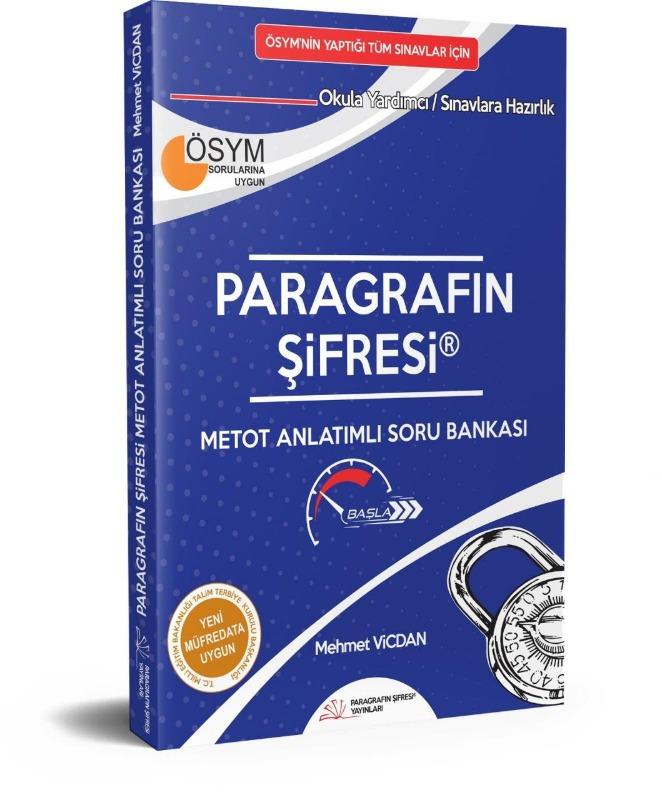 2018 Metot Anlatımlı Soru Bankası Paragrafın Şifresi Yayınları