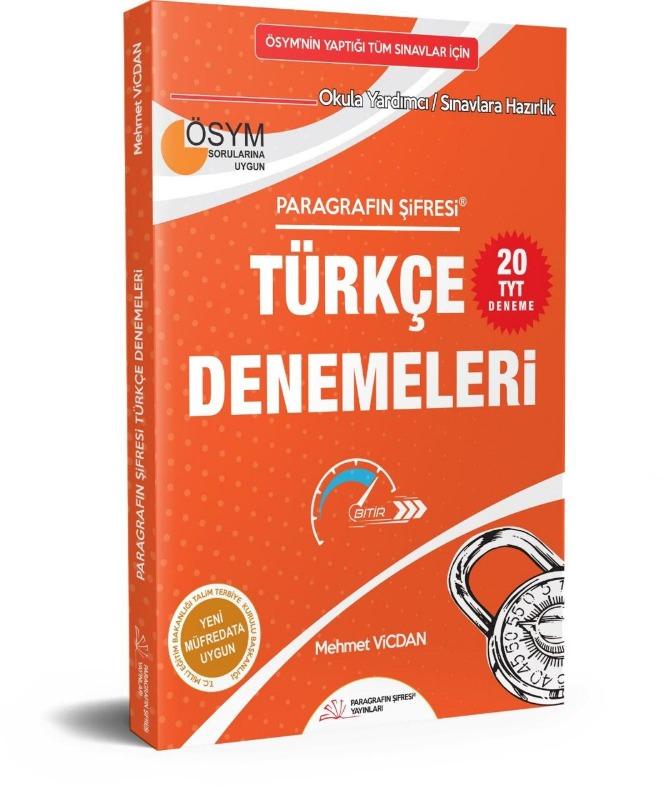 Paragrafın Şifresi Türkçe Denemeleri Paragrafın Şifresi Yayınları