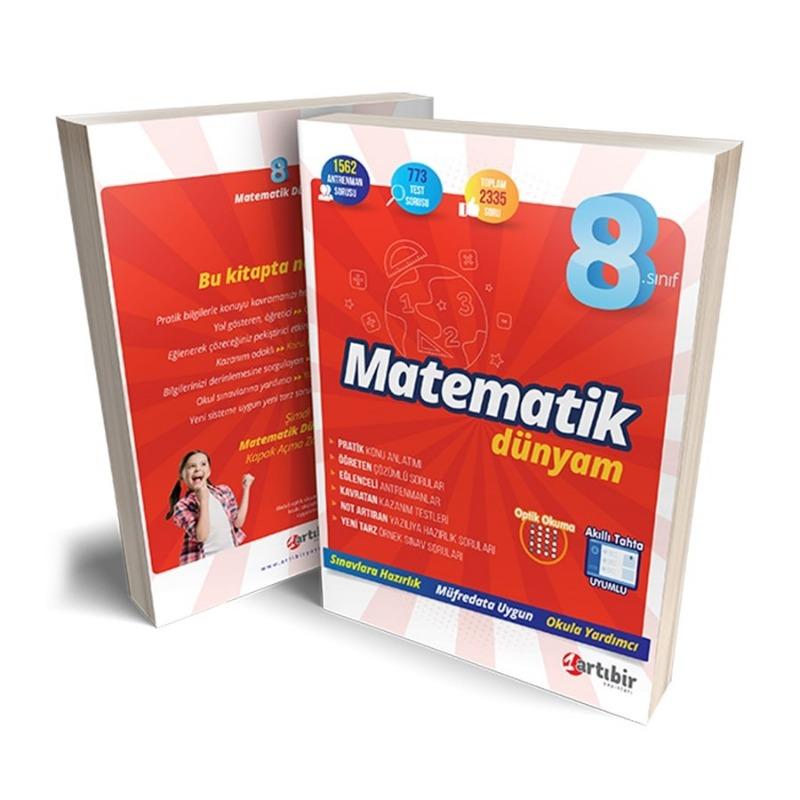 8. Sınıf Matematik Dünyam Artibir Yayınları