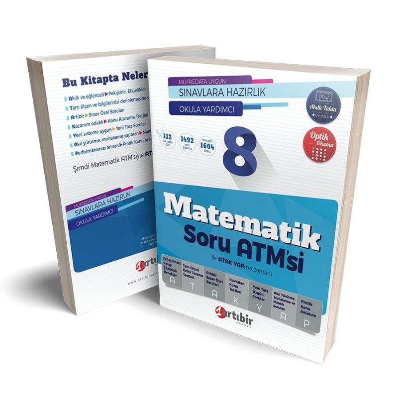 Artıbir Yayınları 8. Sınıf Matematik Soru ATM'si