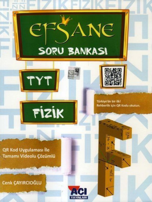 TYT Fizik Efsane Soru Bankası Açı Yayınları