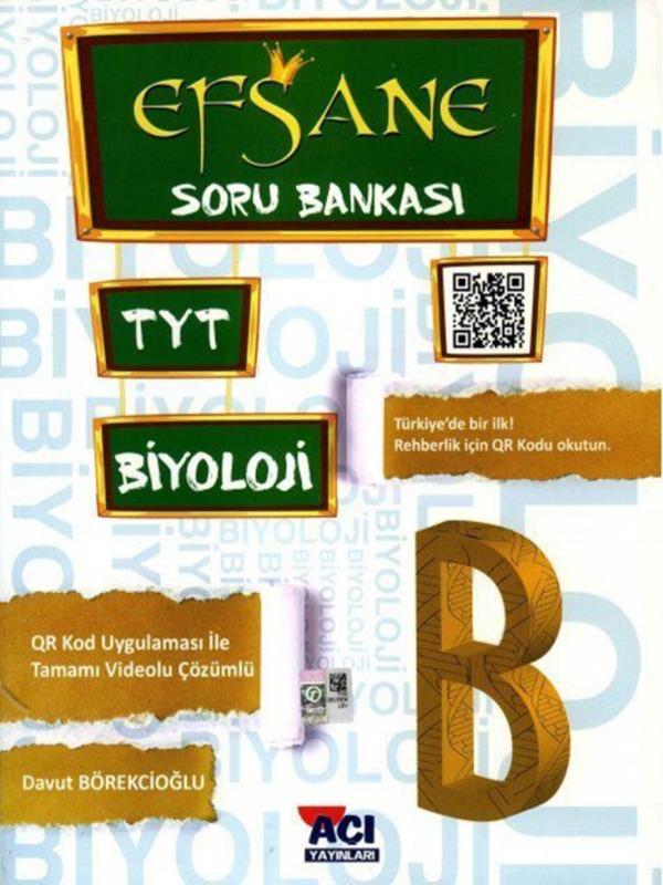 TYT Biyoloji Efsane Soru Bankası Açı Yayınları