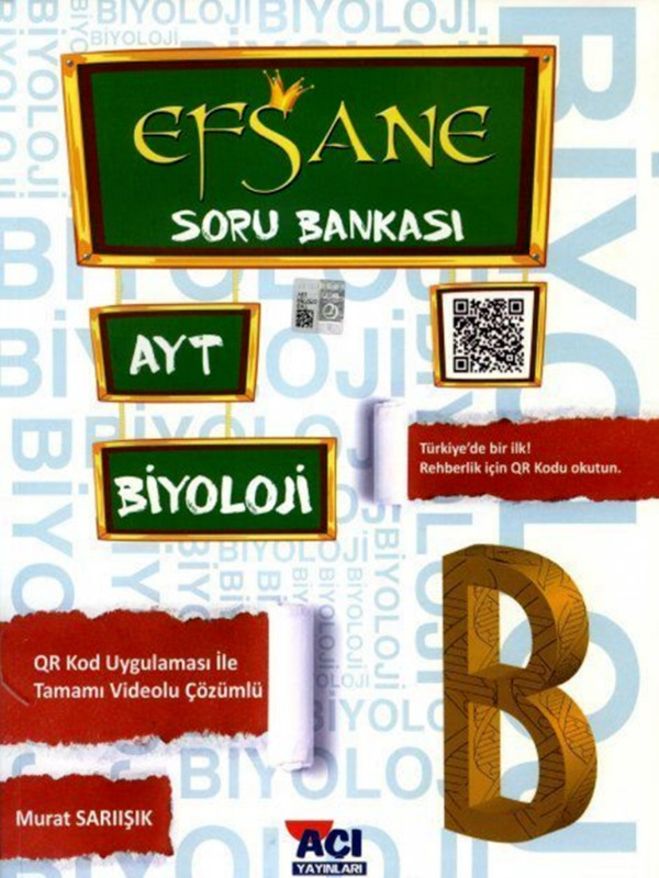 AYT Biyoloji Efsane Soru Bankası Açı Yayınları