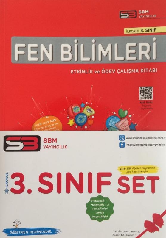 SBM Yayınları 3.Sınıf Fen Bilimleri Etkinlik ve Ödev Çalışma Kitabı