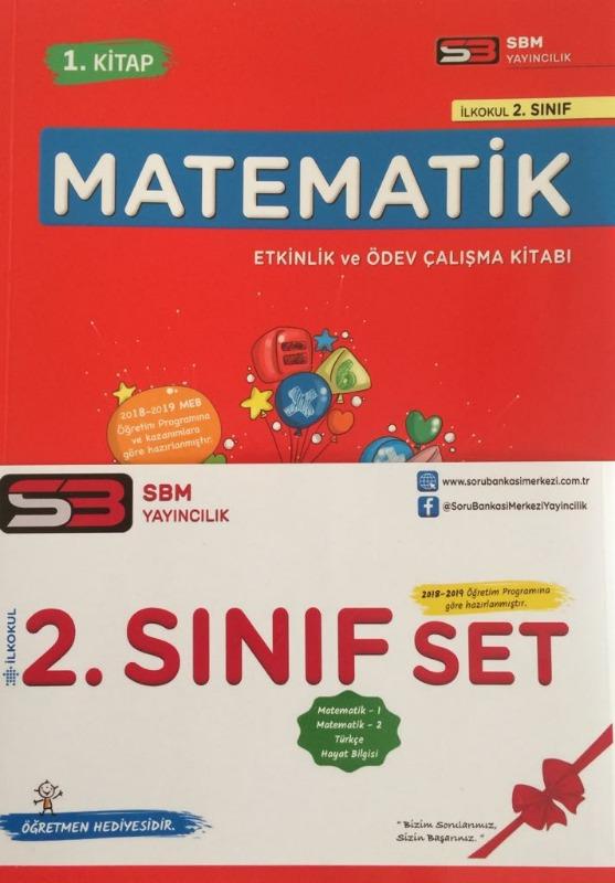 SBM Yayınları 2.Sınıf Matematik Etkinlik ve Ödev Çalışma Kitabı
