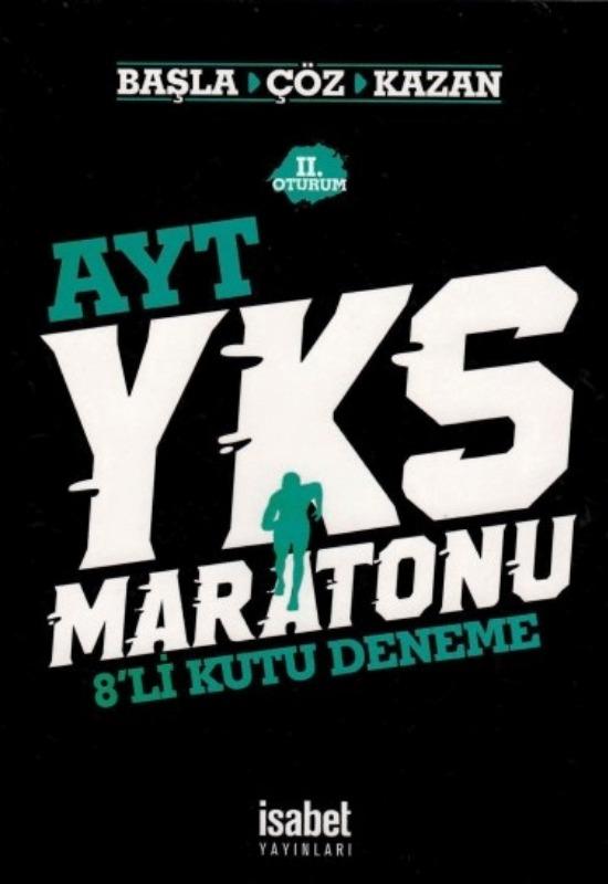 YKS Maratonu AYT 8 li Deneme İsabet Yayınları