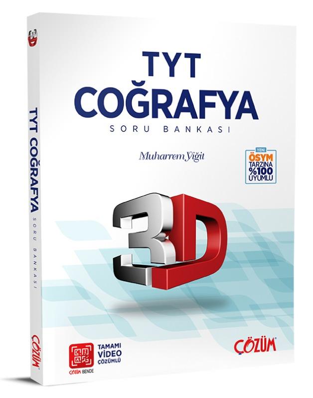 TYT 3D Coğrafya Soru Bankası Çözüm Yayınları