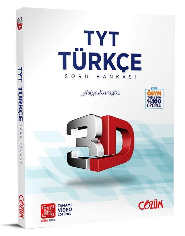 TYT 3D Türkçe Soru Bankası Çözüm Yayınları